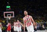 """Šventės starte – fantastiška """"Olympiacos"""" pergalė ir kelialapis į finalą"""
