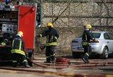 Plungės mokykla paskendo dūmuose – evakuojami vaikai