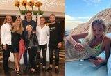 Sabonių šeima linksminasi Graikijoje: dukra virto tikra gražuole