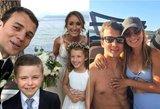 Krepšininkas K. Pangosas vedė savo mylimąją: vestuvių nepraleido ir D. Sabonis