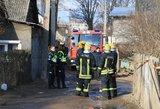 Šiaulių rajone susimušė ugniagesiai