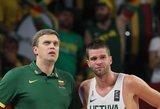 Paaiškėjo Lietuvos rinktinės varžovai pasaulio krepšinio čempionate