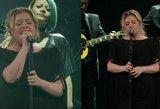 """Kelly Clarkson perdainavo garsiąją """"Shallow"""": pasirodymas atima žadą"""