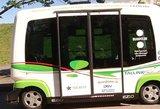 Estijoje kursuoja minibusai be vairuotojų