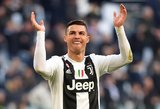 Įspūdingas Ronaldo pasiekimas: padarė tai, ko pasaulyje nesugebėjo dar niekas