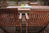 Sužinokite, kaip prižiūrėti ir atnaujinti lauko baldus