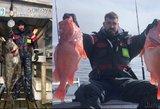 Valančiūno atostogos Norvegijoje: alinanti žvejyba ir įspūdingi laimikiai