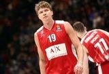 """Kuzminskas buvo solidus, tačiau """"Olimpia"""" baigė pasirodymą Eurolygoje"""