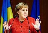 Merkel apie tolesnę politinę karjerą: planai nesikeičia