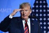 """Trumpas: JAV pasiruošusios išsiųsti """"milijonus"""" nelegalių migrantų"""