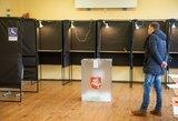 Antrojo rinkimų turo metu užfiksuota virš 100 pažeidimų