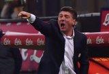 """Milano """"Inter"""" futbolo klubas pakeitė komandos vyriausiąjį trenerį"""