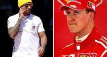 Lewisas Hamiltonas ir Michaelis Schumacheris (tv3.lt fotomontažas)