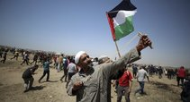 Protestai Gazos Ruože (nuotr. SCANPIX)