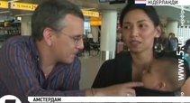 """Du skrydžio MH17 keleiviai gyvi liko tik per stebuklą – pavėlavo atvykti į oro uostą (nuotr. """"YouTube"""")"""