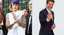 Justin Bieber ir Tom Cruise (nuotr. SCANPIX) tv3.lt fotomontažas