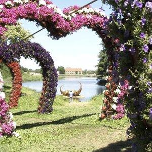 Pakruojo dvare – gėlių šventė