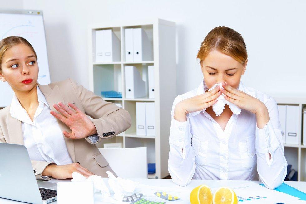 Gripas (nuotr. Fotolia.com)