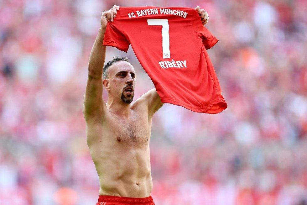 F.Ribery (nuotr. SCANPIX)
