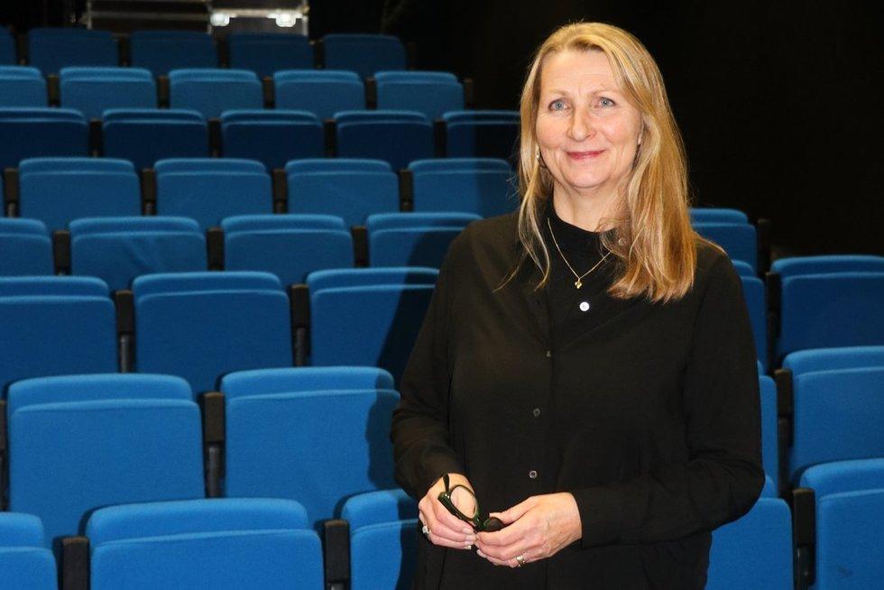 """Norvegijos architektūros įmonės """"NSW Arkitektur"""" vykdomoji direktorė Lise Rystad (Sigitos Inčiūrienės nuotr.)"""