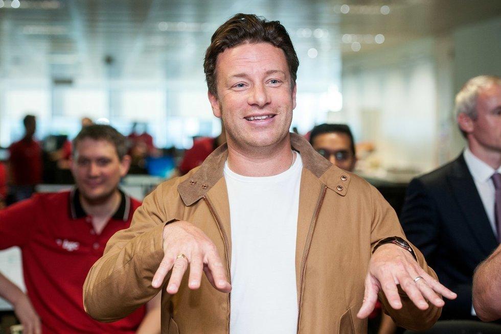 Jamie Oliveris (nuotr. Vida Press)