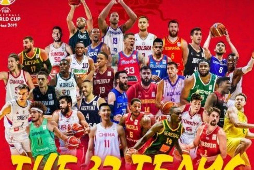 Pasaulio čempionate varžysis 32 komandos (nuotr. Twitter)