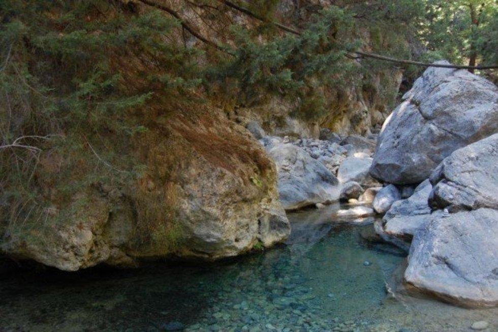 Samaria tarpeklis, Kreta (nuotr. Makalius.lt) (nuotr. Gamintojo)