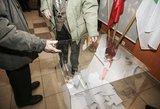 Estijos prezidentė: visuomenė turi būti pasirengusi elektroniniam balsavimui