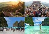 Tikrų tikriausi kelionių košmarai: žinomos pasaulio vietos realybėje atrodo visai kitaip