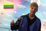 """Paviešintas Švedijos atsakas dėl klaidingai nurodytos Donato Montvydo tautybės """"Eurovizijoje"""""""