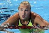 Rūta Meilutytė nedalyvaus tarptautinėse plaukimo varžybose Liuksemburge