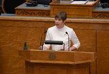Estijos prezidentė atskleidė savo kelionės į Maskvą tikslą