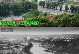 Kaip pasikeitė miestai per dešimtmečius: Vilniaus pokyčiai stulbina
