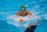 Olimpiniame baseine pastebėjo broką: kai kurie takeliai turi pranašumą