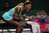 WTA Championships serijos turnyrą Singapūre vėl laimėjo Serena Williams