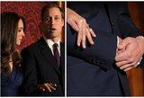 Atskleista netikėta priežastis, kodėl princas Williamas nenešioja vestuvinio žiedo