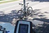 Palangoje dviratininkas įpūtė 5,31 prom.