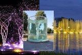 Gražiausi fontanai Lietuvoje: vaizdas atima žadą