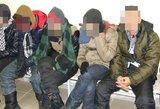 Netoli Utenos sulaikyti aštuoni Vietnamo piliečiai