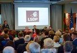 """Socialdemokratai apsispręs dėl """"maištininkų"""" šalinimo iš partijos"""
