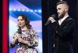 """""""Lietuvos talentų"""" dalyvis nekreipia dėmesio į kritiką kolegei: kartu atėjome, kartu ir išeisime"""