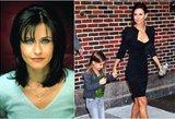 """Nuo operacijų priklausomos """"Draugų"""" žvaigždės dukra užaugo: tikra mamos kopija"""