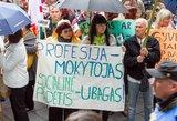 Ministerijoje – derybos su streikui besirengiančiais mokytojais