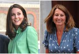 Stulbinantis panašumas: Middleton su mama – tarsi du vandens lašai