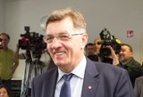 A. Butkevičius atskleidė, ką norėtų matyti žemės ūkio ministro poste