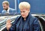 """D. Grybauskaitė šoktelėjo """"Forbes"""" įtakingiausių moterų sąraše"""