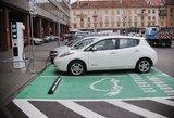 Sugalvojo, kaip išskirti elektromobilius iš bendro srauto