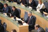 Kurie Seimo komitetų pirmininkai atsidūrė ne savo rogėse?