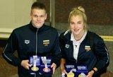 Išdalinti plaukimo apdovanojimai: geriausiais pripažinti D.Rapšys ir R.Meilutytė