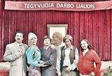 Išskirtinė fotogalerija: filmavimo aikštelėje garsūs aktoriai atvaizdavo tarybinius laikus